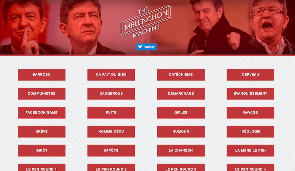 Mélenchon Machine