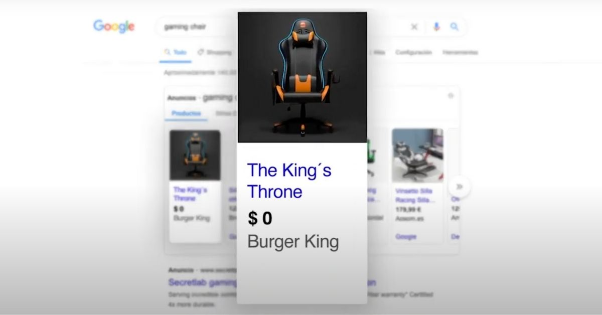 burger-king-chaise-gamer-campagne-fictive