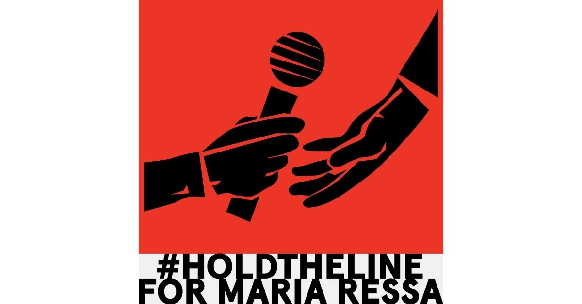 coalition-hold-the-line-for-maria-ressa-affiche