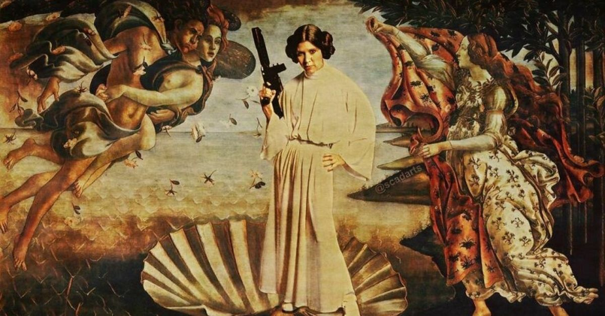 personnage-star-wars-oeuvres-classiques-tableau