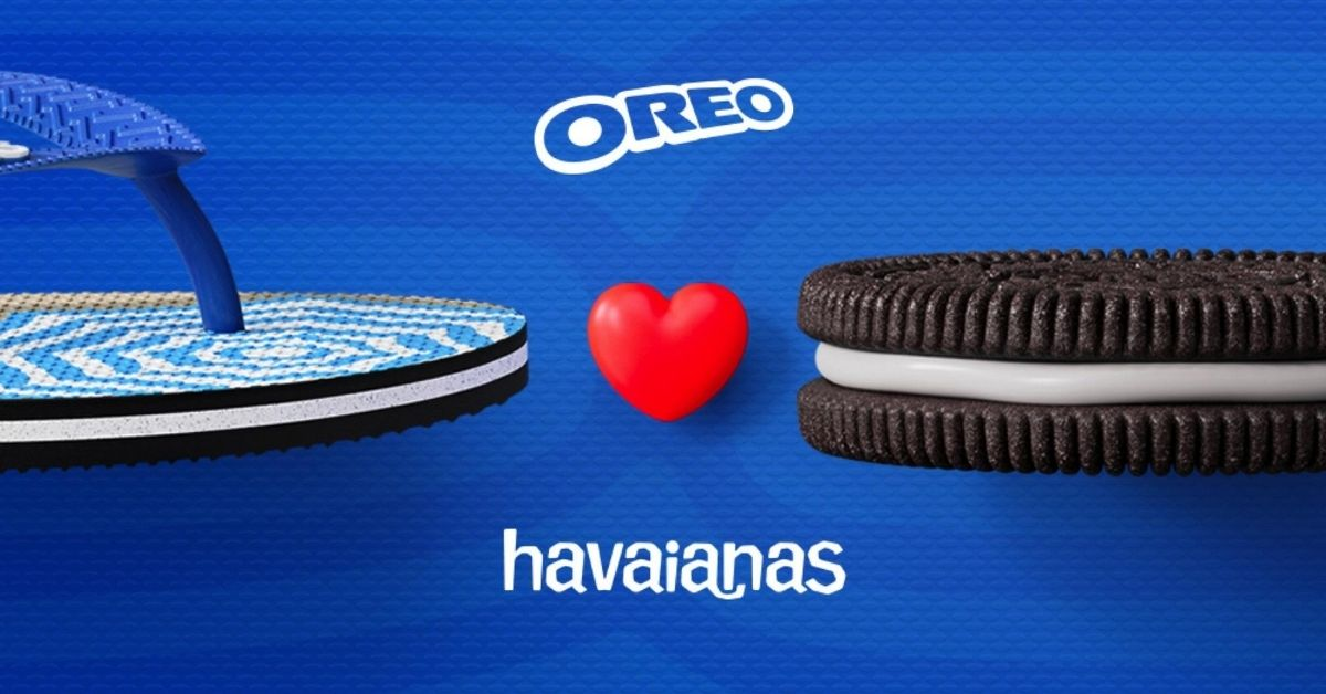 affiche-fond-coeur-bleu-tong-biscuit-collaboration-marques-oreo